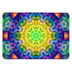 Psychedelic Abstract Samsung Galaxy Tab 8 9  P7300 Flip Case by Colorfulplayground