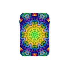 Psychedelic Abstract Apple Ipad Mini Protective Sleeve by Colorfulplayground