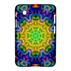 Psychedelic Abstract Samsung Galaxy Tab 2 (7 ) P3100 Hardshell Case  by Colorfulplayground