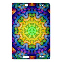 Psychedelic Abstract Kindle Fire Hd 7  (2nd Gen) Hardshell Case by Colorfulplayground