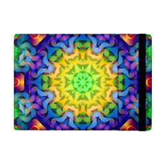 Psychedelic Abstract Apple Ipad Mini 2 Flip Case by Colorfulplayground