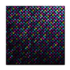 Polka Dot Sparkley Jewels 2 Ceramic Tile by MedusArt