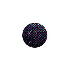 Polka Dot Sparkley Jewels 2 1  Mini Button by MedusArt