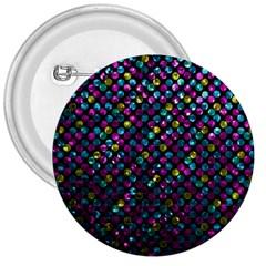 Polka Dot Sparkley Jewels 2 3  Button by MedusArt