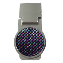 Polka Dot Sparkley Jewels 2 Money Clip (round) by MedusArt