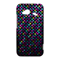 Polka Dot Sparkley Jewels 2 HTC Droid Incredible 4G LTE Hardshell Case by MedusArt