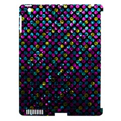Polka Dot Sparkley Jewels 2 Apple Ipad 3/4 Hardshell Case (compatible With Smart Cover) by MedusArt