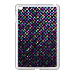 Polka Dot Sparkley Jewels 2 Apple Ipad Mini Case (white) by MedusArt