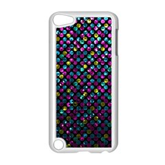 Polka Dot Sparkley Jewels 2 Apple Ipod Touch 5 Case (white) by MedusArt