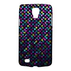 Polka Dot Sparkley Jewels 2 Samsung Galaxy S4 Active (i9295) Hardshell Case by MedusArt