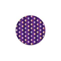 Flare Polka Dots Golf Ball Marker 4 Pack by Colorfulplayground