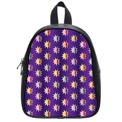 Flare Polka Dots School Bag (small) by Colorfulplayground