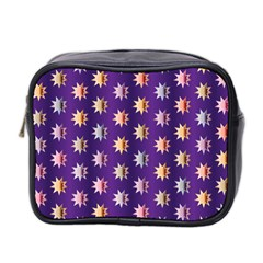Flare Polka Dots Mini Travel Toiletry Bag (two Sides) by Colorfulplayground