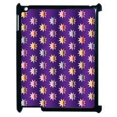 Flare Polka Dots Apple Ipad 2 Case (black) by Colorfulplayground