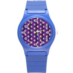Flare Polka Dots Plastic Sport Watch (small) by Colorfulplayground