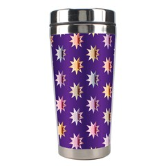 Flare Polka Dots Stainless Steel Travel Tumbler by Colorfulplayground