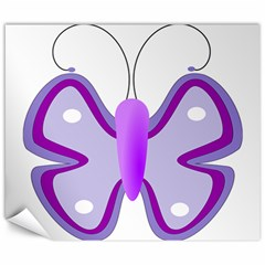 Cute Awareness Butterfly Canvas 20  X 24  (unframed) by FunWithFibro