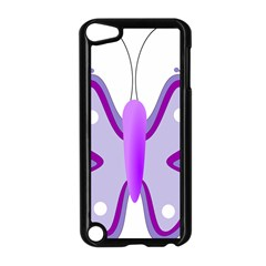 Cute Awareness Butterfly Apple Ipod Touch 5 Case (black) by FunWithFibro