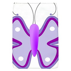 Cute Awareness Butterfly Removable Flap Cover (small) by FunWithFibro