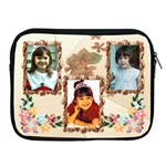 Floral Apple iPad 2/3/4 Zipper Case - Apple iPad Zipper Case