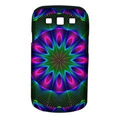 Star Of Leaves, Abstract Magenta Green Forest Samsung Galaxy S Iii Classic Hardshell Case (pc+silicone) by DianeClancy
