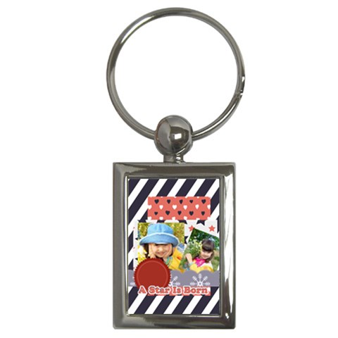 Kids By Kids   Key Chain (rectangle)   Mr7o1vjf6q0z   Www Artscow Com Front