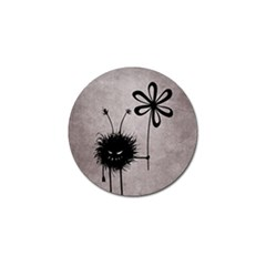 Evil Flower Bug Vintage Golf Ball Marker 10 Pack by CreaturesStore
