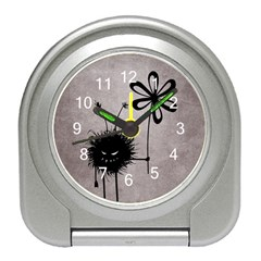 Evil Flower Bug Vintage Desk Alarm Clock by CreaturesStore