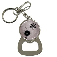 Evil Flower Bug Vintage Bottle Opener Key Chain