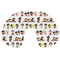 Shinhwa Chibi Neack Travel Pillow 2 By Nhicar Tabuzo   Travel Neck Pillow   1chjtkcf63y9   Www Artscow Com Back