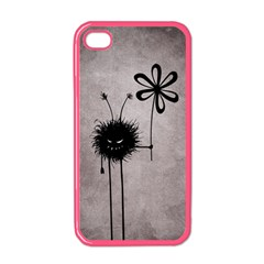 Evil Flower Bug Vintage Apple Iphone 4 Case (color) by CreaturesStore