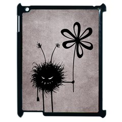 Evil Flower Bug Vintage Apple Ipad 2 Case (black) by CreaturesStore