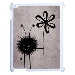 Evil Flower Bug Vintage Apple Ipad 2 Case (white)