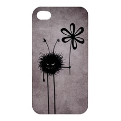 Evil Flower Bug Vintage Apple Iphone 4/4s Premium Hardshell Case by CreaturesStore