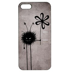 Evil Flower Bug Vintage Apple Iphone 5 Hardshell Case With Stand