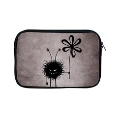 Evil Flower Bug Vintage Apple Ipad Mini Zippered Sleeve by CreaturesStore