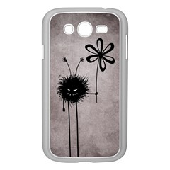 Evil Flower Bug Vintage Samsung Galaxy Grand Duos I9082 Case (white) by CreaturesStore