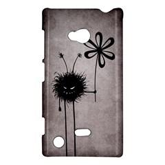 Evil Flower Bug Vintage Nokia Lumia 720 Hardshell Case by CreaturesStore