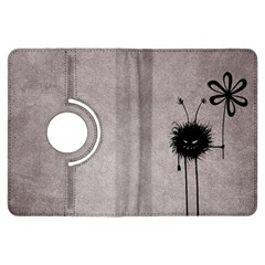 Evil Flower Bug Vintage Kindle Fire Hdx 7  Flip 360 Case