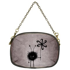 Evil Flower Bug Vintage Chain Purse (two Sided)