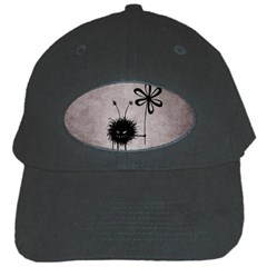 Evil Flower Bug Black Baseball Cap