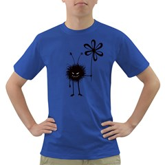 Evil Flower Bug Men s T Shirt (colored)