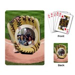 Baseball playing cards - Playing Cards Single Design
