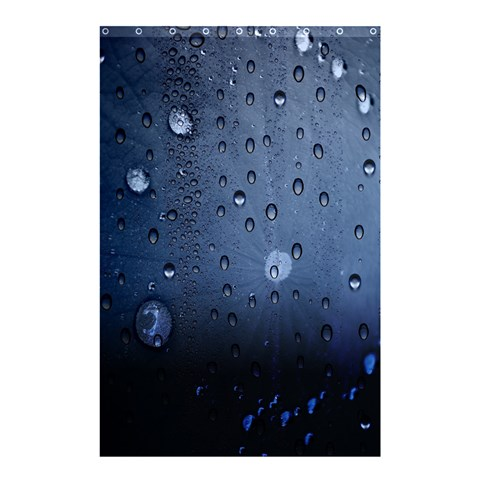 Water Drop By Divad Brown   Shower Curtain 48  X 72  (small)   Sbe0yuzoqc92   Www Artscow Com 48 x72 Curtain