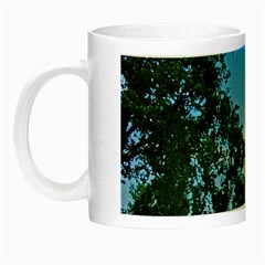 Coming Sunset Accented Edges Glow In The Dark Mug by Majesticmountain
