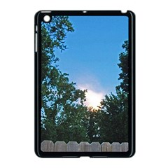 Coming Sunset Accented Edges Apple iPad Mini Case (Black) by Majesticmountain
