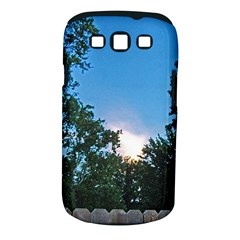 Coming Sunset Accented Edges Samsung Galaxy S Iii Classic Hardshell Case (pc+silicone) by Majesticmountain