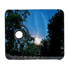 Coming Sunset Accented Edges Samsung Galaxy S  Iii Flip 360 Case by Majesticmountain
