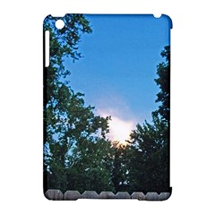 Coming Sunset Accented Edges Apple Ipad Mini Hardshell Case (compatible With Smart Cover) by Majesticmountain