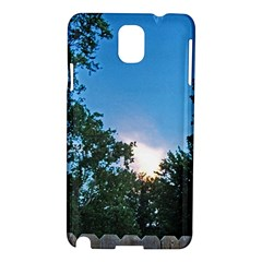 Coming Sunset Accented Edges Samsung Galaxy Note 3 N9005 Hardshell Case by Majesticmountain